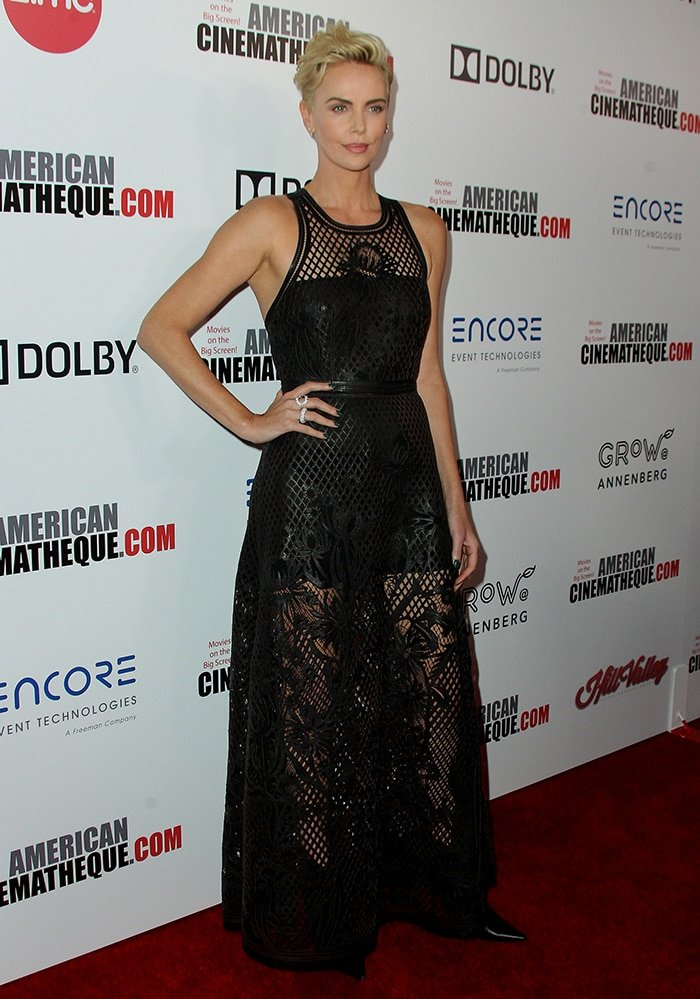 Charlize Theron Wins American Cinematheque Award With New