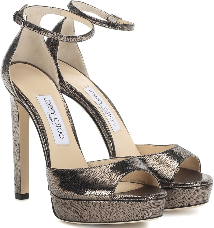 Jimmy Choo's Pattie sandals work with so many different outfits - you can wear them with vibrant mini dresses or cropped denim, depending on the occasion