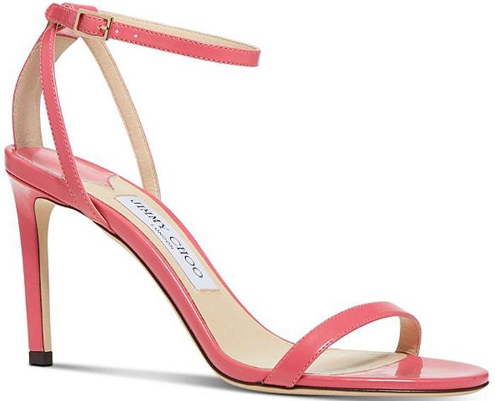 Pink Jimmy Choo Minny Sandals