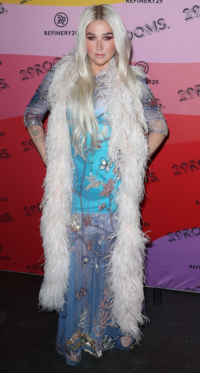 Kesha attends Refinery29's 29Rooms Los Angeles 2018: Expand Your Reality at The Reef