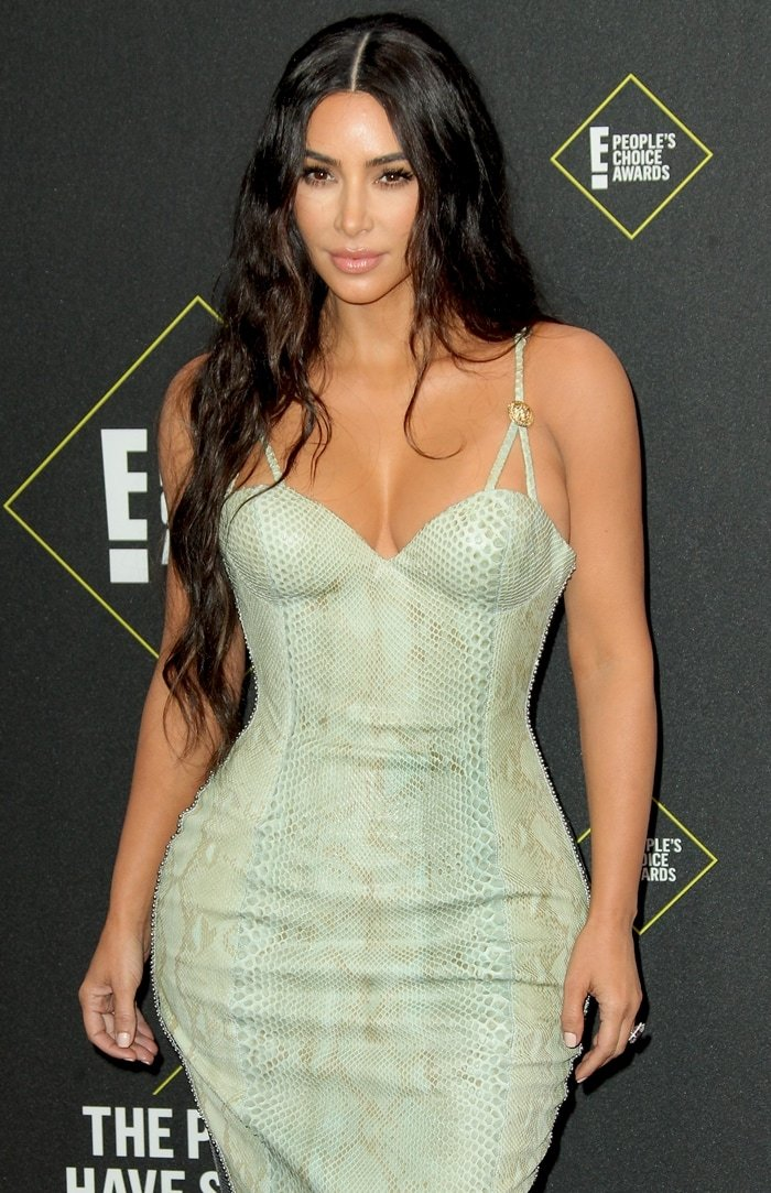 Kim Kardashian revealed that she has gained over 18 pounds since last year