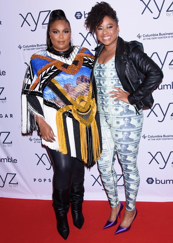 Lizzo joined Phoebe Robinson at 92nd Street Y
