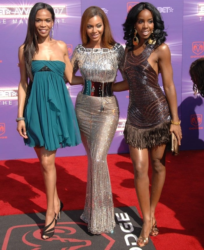 Michelle Williams, Beyonce and Kelly Rowland of Destiny's Child