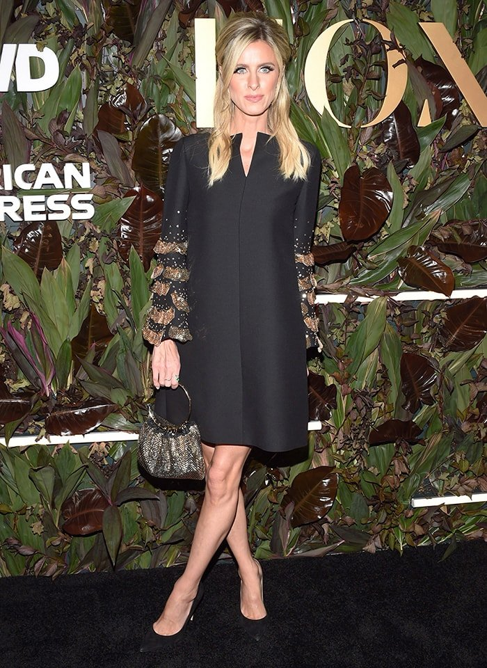 Nicky Hilton wears Valentino LBD at the 4th Annual WWD Honors