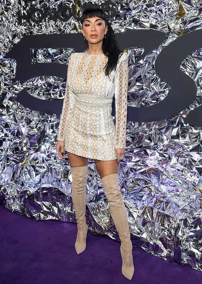 Nicole Scherzinger attends the Gay Times Honours 500 at Magazine London on November 21, 2019