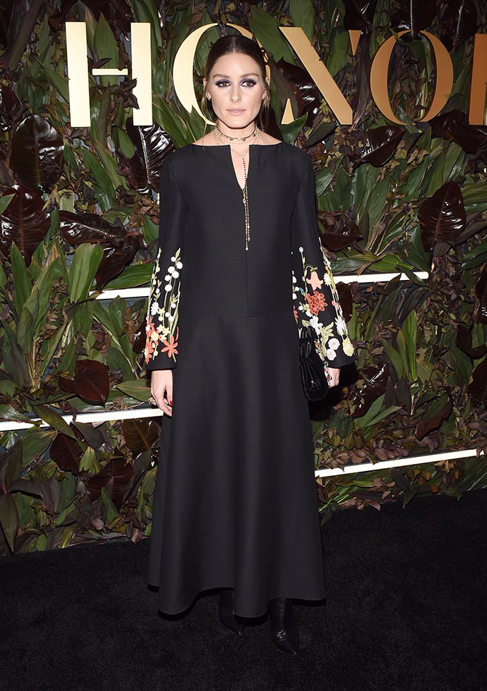 Olivia Palermo looks regal in Valentino dress at the 2019 WWD Honors