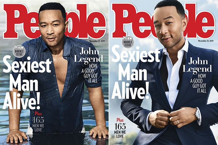 John Legend named 2019 Sexiest Man Alive by People Magazine