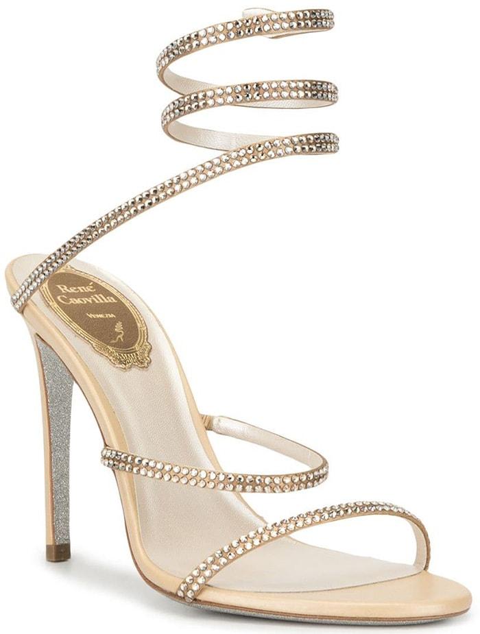 Rene Caovilla Embellished 'Cleo' Sandals