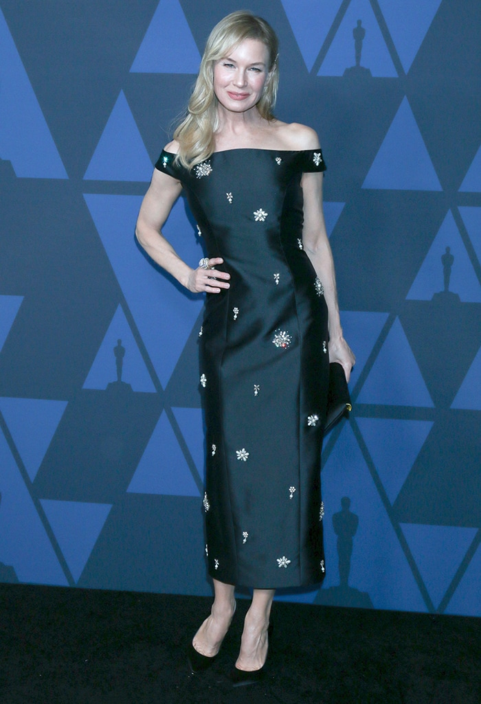 Renee Zellweger at the 11th Annual Governors Awards gala held at the Dolby Theater in Hollywood on October 27, 2019