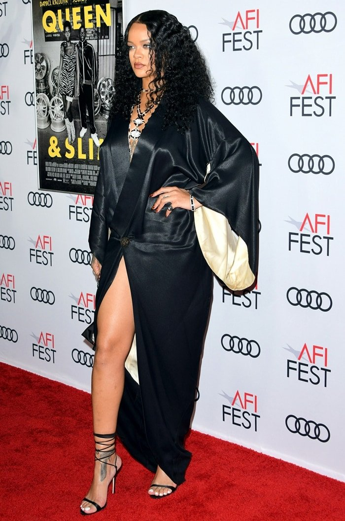 "Rihanna at the ""Queen & Slim"" Premiere at AFI FEST 2019 presented by Audi"