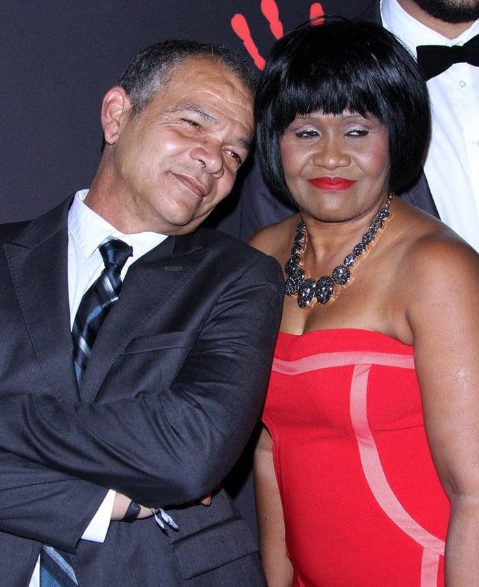 Rihanna's parents Ronald Fenty and Monica Braithwaite