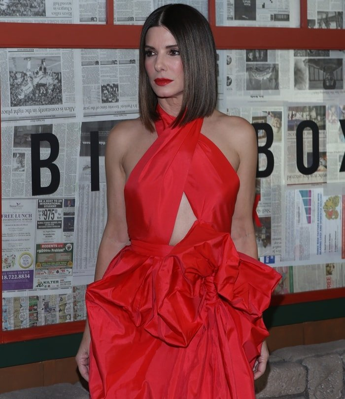 Sandra Bullock's net worth is approximately $200 million