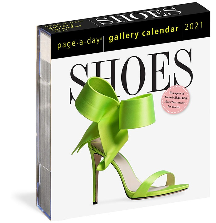 Shoes Page-a-Day calendar 2021