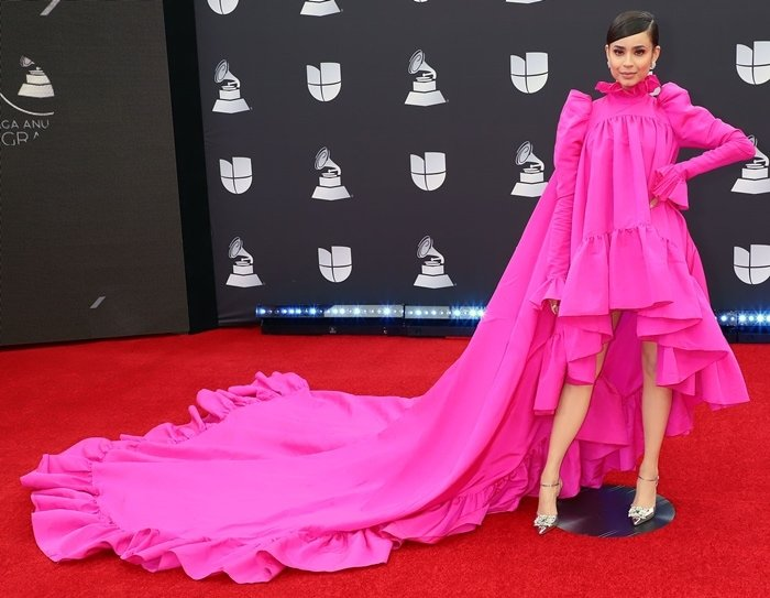 Sofia Carson wowed on the red carpet at the 2019 Latin GRAMMY Awards