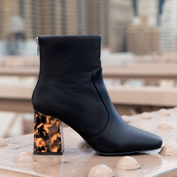 Sol Sana Cecile Turtle Shell Wrapped Heel Boots