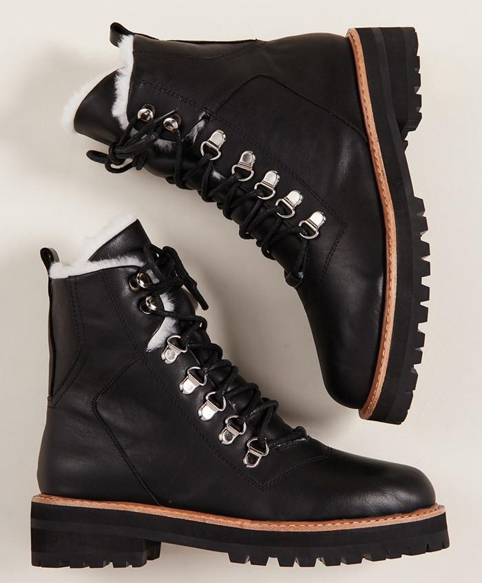 Black Sol Sana Harlan Combat Boot