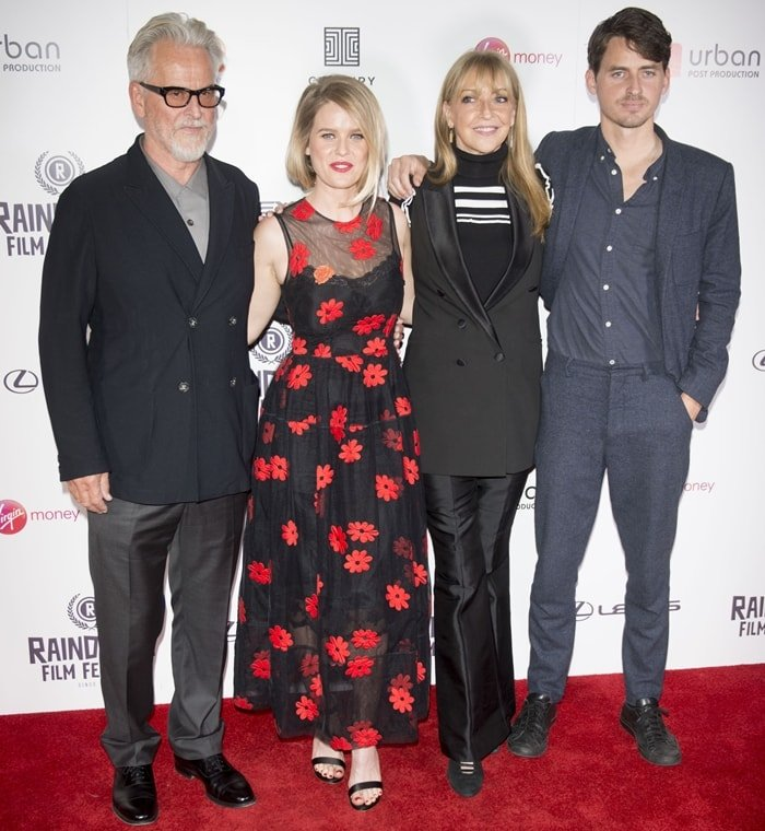 Alice Eve's father Trevor Eve, her mother Sharon Maughan, and her younger brother Jack Eve