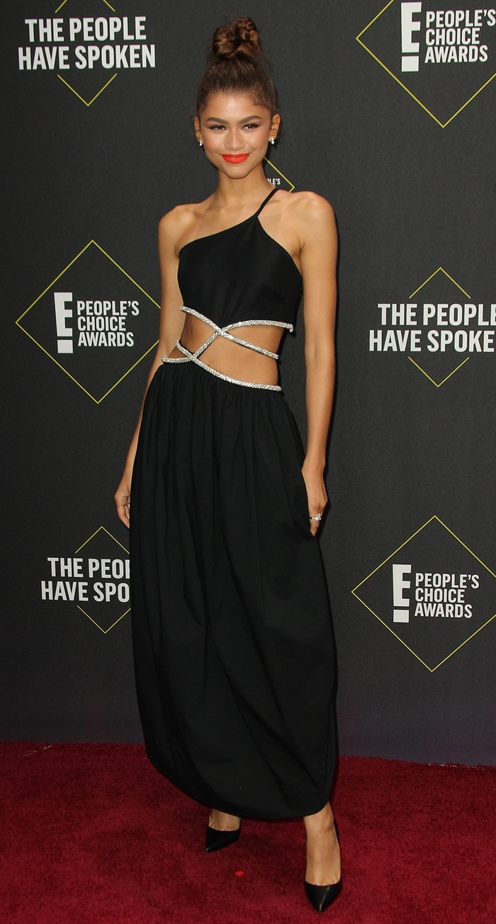 Zendaya was honored with prestigious awards at the 2019 E! People's Choice Awards