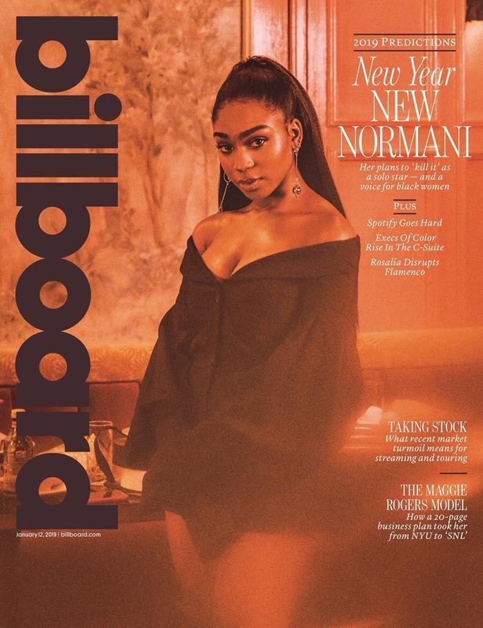 Billboard Magazine (January 12, 2019) Normani Cover