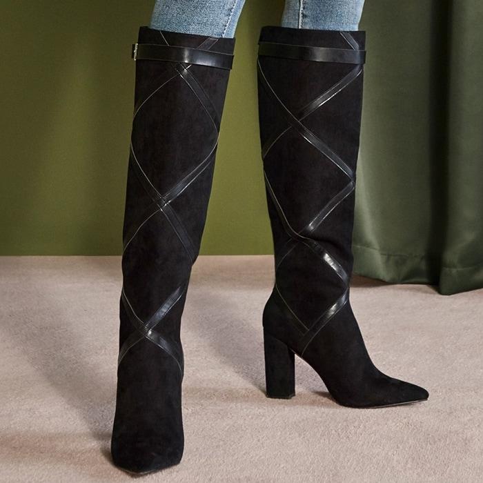 Black Nannette Boots