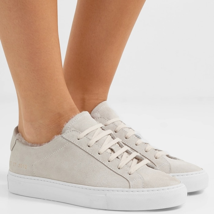 Common Projects' coveted sneakers have an understated feel that works with almost any outfit