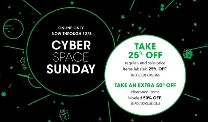 Cyber Monday Bloomingdale's