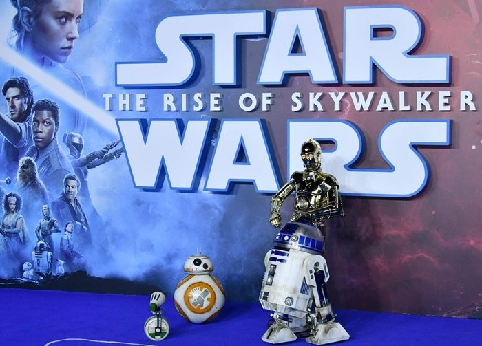 Your favorite droids: D-O, BB-8, R2-D2, and C-3PO