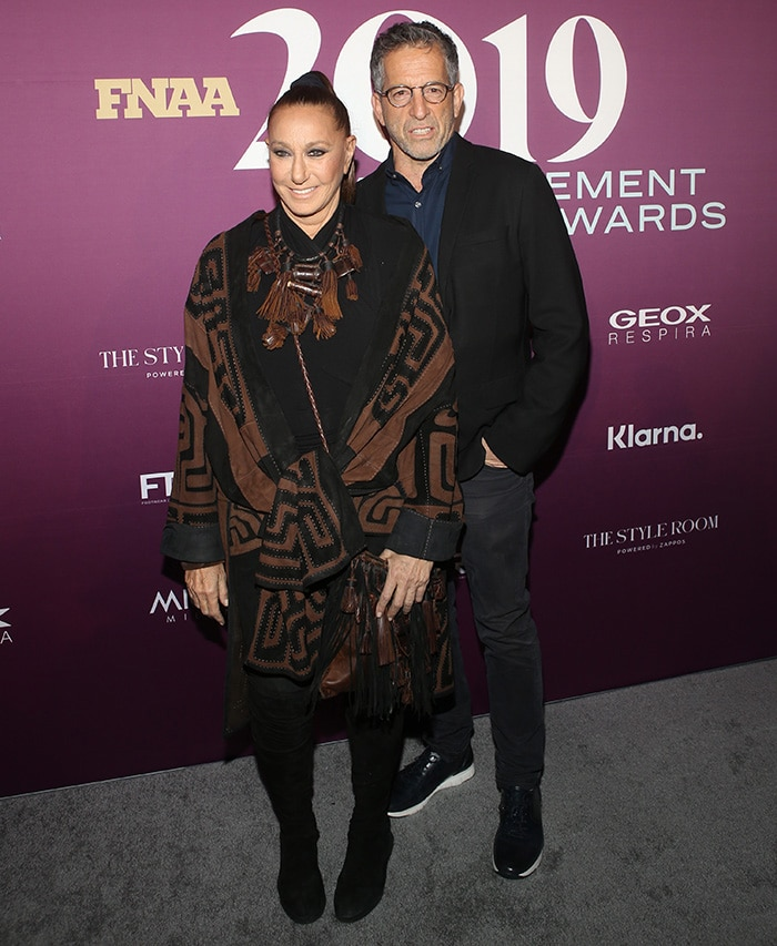 Donna Karan and Kenneth Cole were honored with Icon Award for Social Impact at the 2019 FNAA