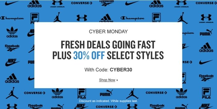 Finish Line Cyber Monday 2020