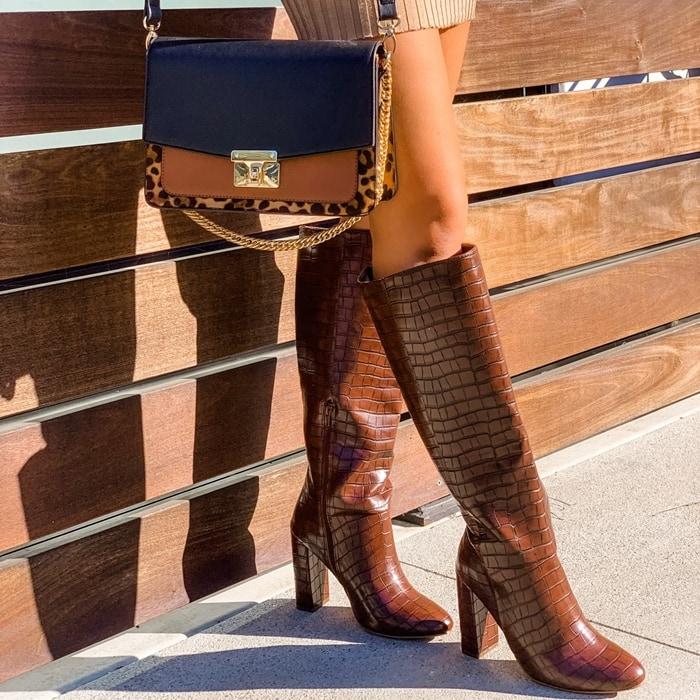 Grasie Block Heel Boot