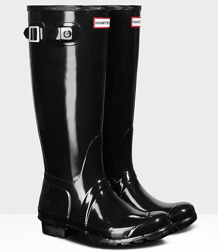 Hunter Original Tall Gloss Rain Boots