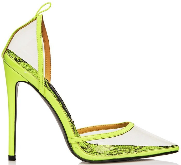 Jessica Rich 'Love' Pumps Yellow
