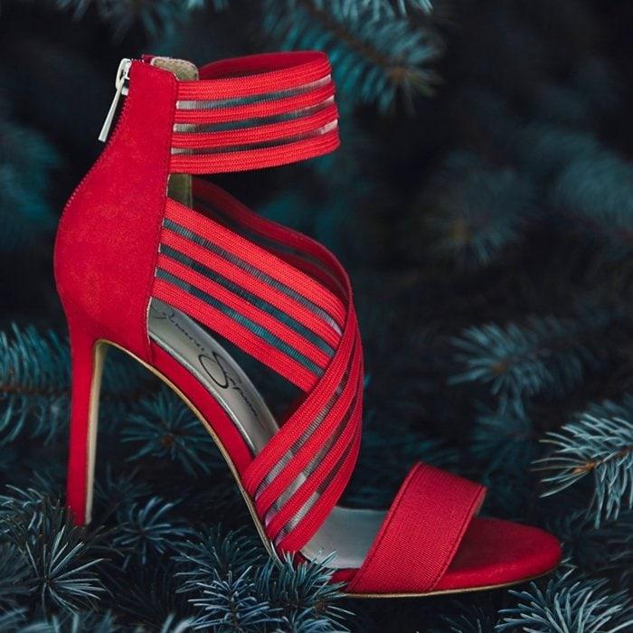 Red Jessica Simpson Jivero Red Sandals