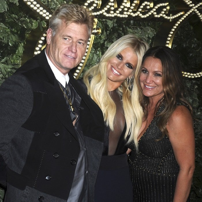 Jessica Simpson's parents Tina Ann Simpson (née Drew) and Joseph