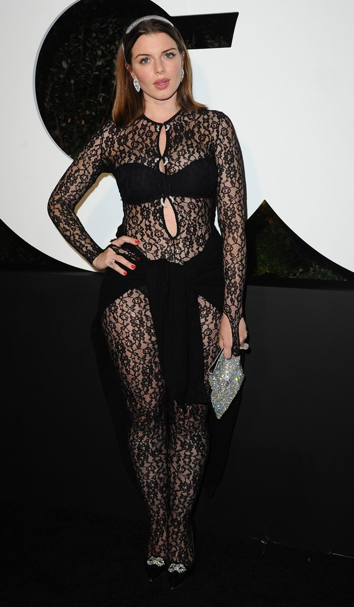 Julia Fox became the worst dressed celebrity of the year at the 2019 GQ Men of the Year Party