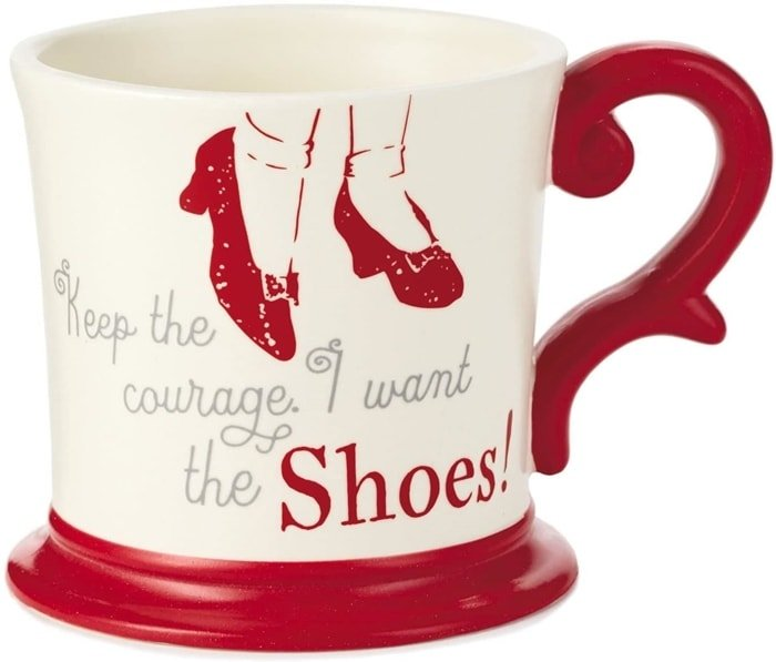 Keep the Courage. I Want the Shoes