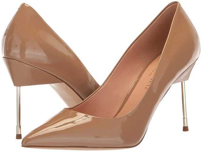 Kurt Geiger London Britton Pumps Nude Patent