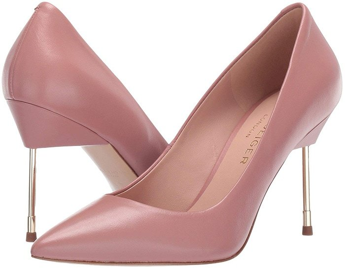 Kurt Geiger London Britton Pumps Pink Leather