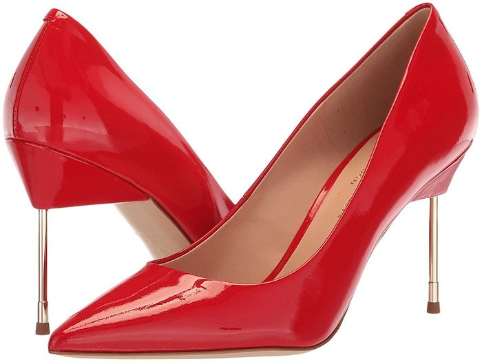 Kurt Geiger London Britton Pumps Red