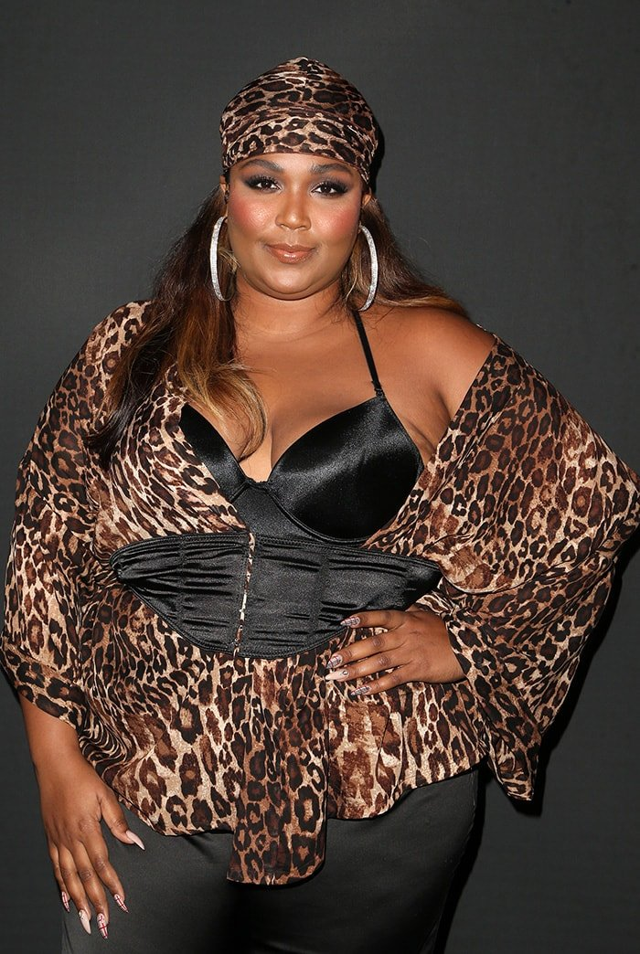 Lizzo at GQ's 2018 All-Stars Celebration at Nomad Hotel Los Angeles on February 17, 2018