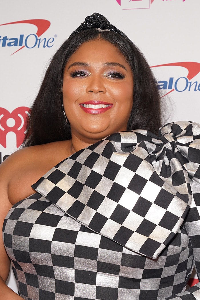 Lizzo fulfills her childhood dream of performing at the Madison Square Garden on December 13, 2019