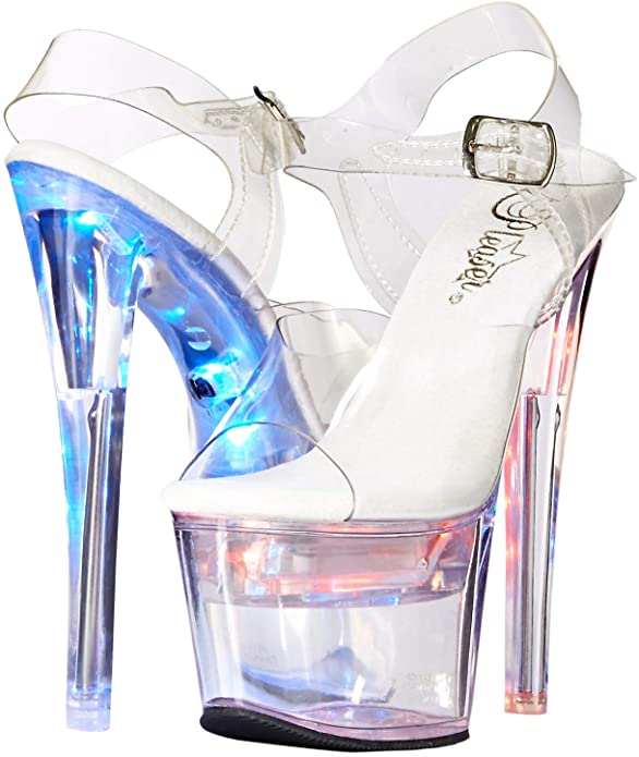 Pleaser Flashdance-708 High Heel Sandals