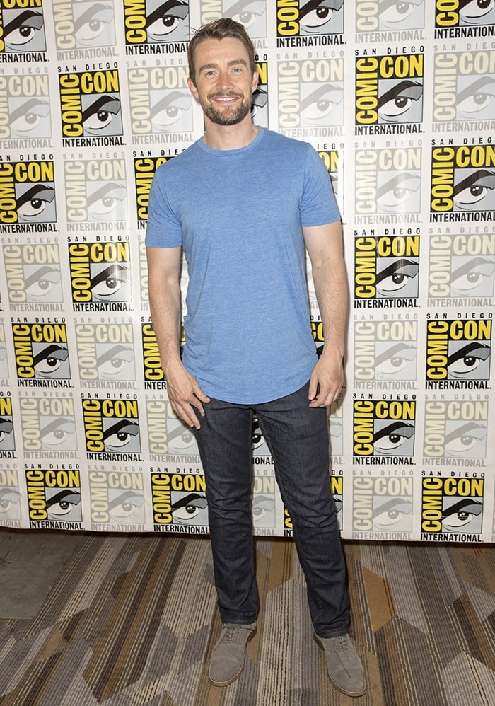 Lea Michele's ex-boyfriend Robert Buckley at the iZombie photocall during the San Diego Comic Con on July 21, 2017
