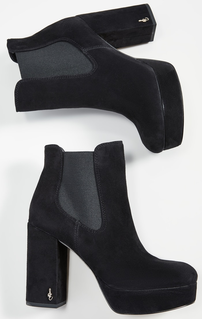 An elevated take on a classic Chelsea boot, these Abella Sam Edelman booties bring the versatile slip-on style to new heights with a sleek platform