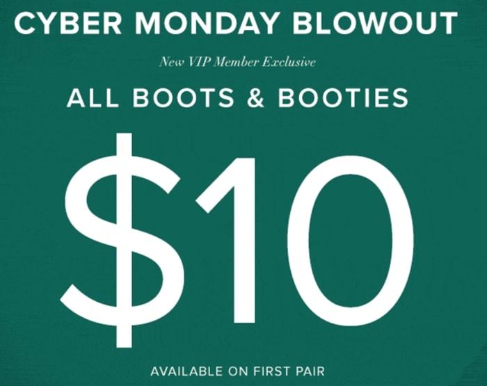 ShoeDazzle Cyber Monday