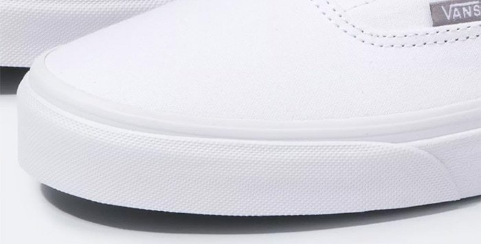 Vans sneakers' textured rubber toe caps