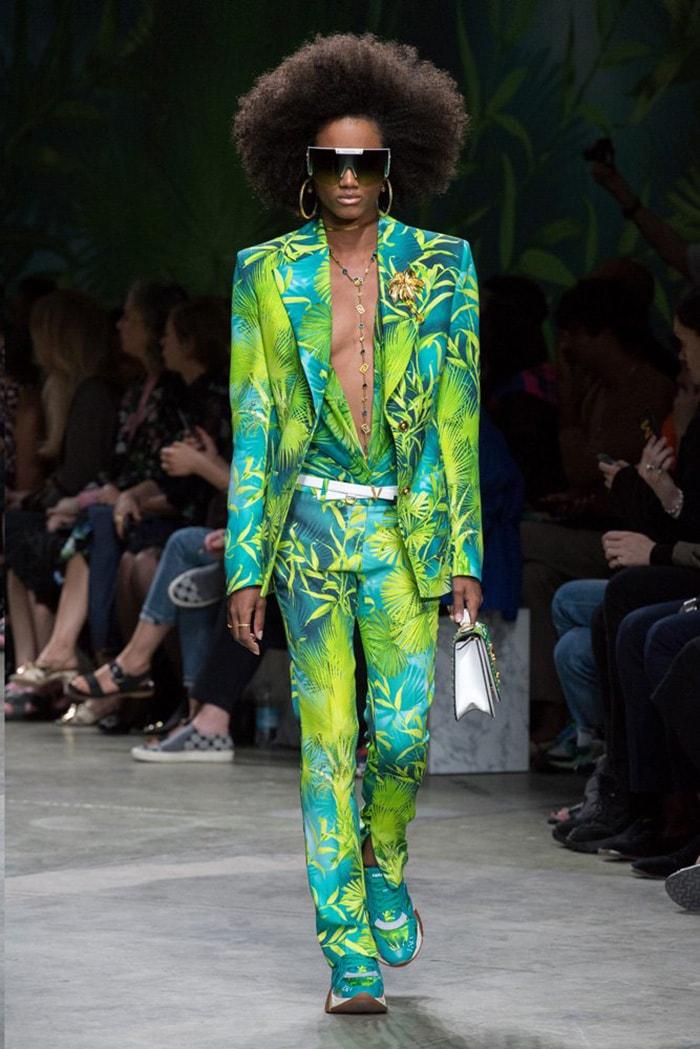 Versace Spring/Summer 2020 runway