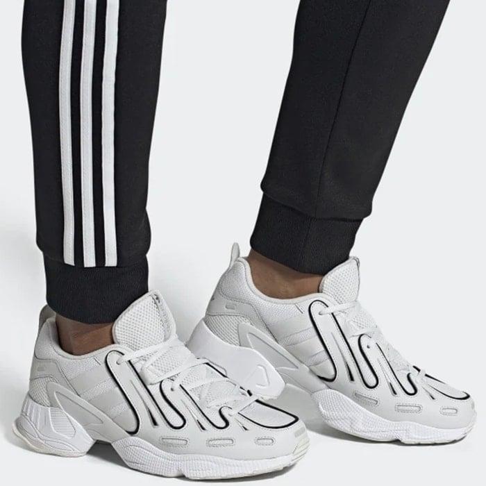 adidas Originals EQT Gazelle sneakers in triple white