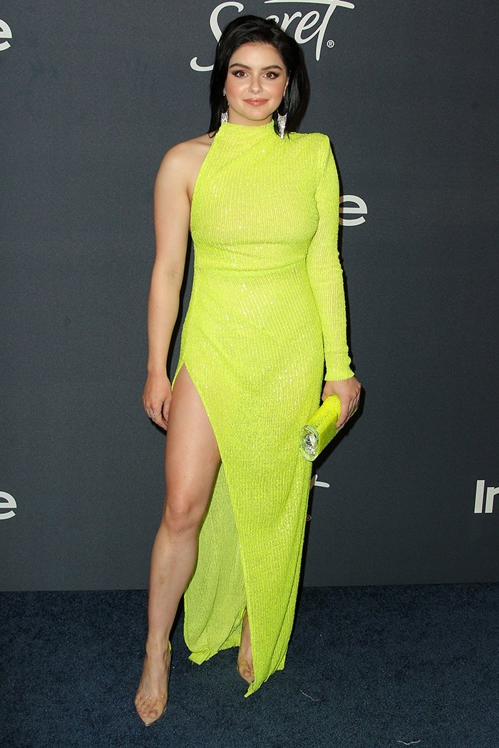 Ariel Winter at the 21st Annual Warner Brothers and InStyle Golden Globes after party in Beverly Hills on January 5, 2020