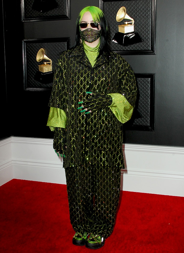 Billie Eilish makes Grammy history after taking home four major awards at the 62nd Annual Grammy Awards on January 26, 2020